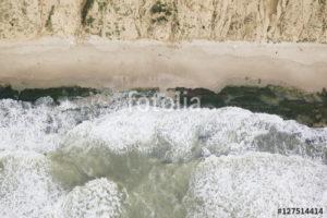 Custom Texture Mural Image - Coast
