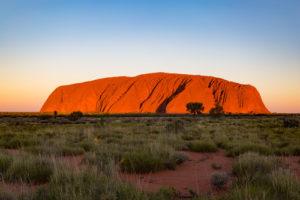 Australia Mural Image - The Rock