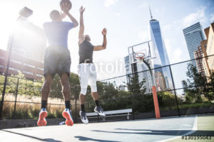 Custom Sports Mural Image - Basketball