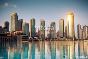 Custom Travel Mural Image - Dubai