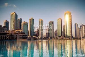 Custom Travel Mural Image - Dubai