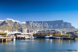 Custom Travel Mural Image - Cape Town South Africa