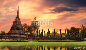 Custom Travel Mural Image - Thailand