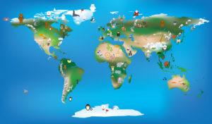 Custom Map Mural Image - Map 1