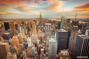 Custom Travel Mural Image - New York City USA