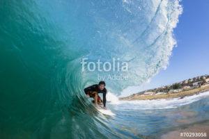 Custom Sports Mural Image - Surfing