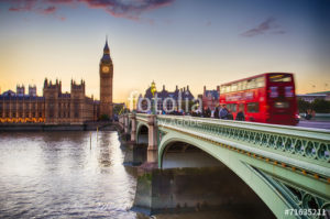 Custom Travel Mural Image - London England