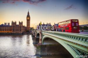 Custom Travel Mural Image - London England