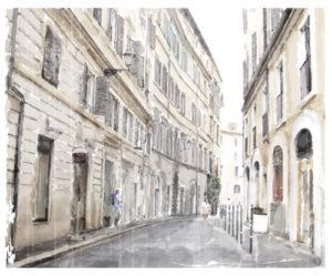 Custom Teen Mural Image - Hand Painted Paris