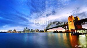Custom Travel Mural Image - Sydney Australia