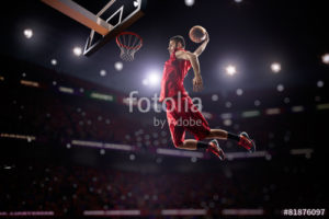 Custom Sports Mural Image - Basketball 2