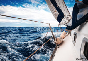 Custom Sports Mural Image - Sailing