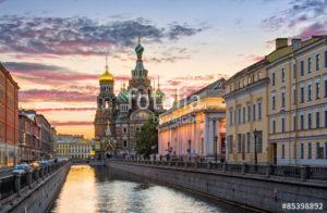 Custom Travel Mural Image - St Petersberg Russia