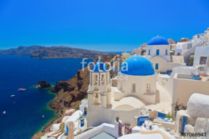 Custom Travel Mural Image - Greece