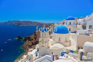 Custom Travel Mural Image - Greece