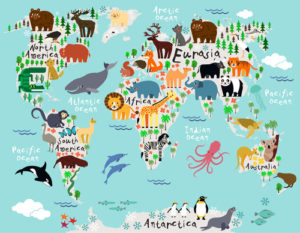 Custom Map Mural Image - Map 2