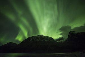 Amazing Planet Mural Image - Aurora Borealis