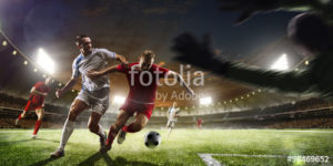 Custom Sports Mural Image - Soccer