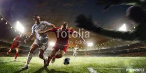 Custom Sports Mural Image - Soccer