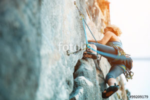 Custom Sports Mural Image - Rock Climbing