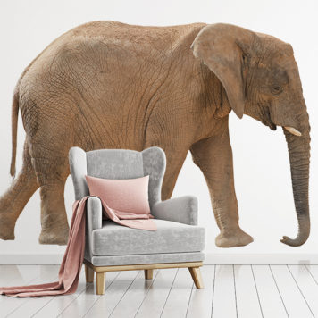 Real Life Elephant wall sticker