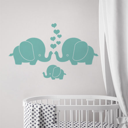mock up poster frame in children room, scandinavian style interior