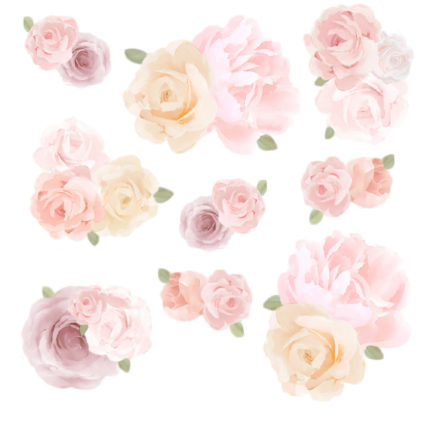 Schmooks Beautiful Blooms extra sheet