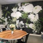 Custom mural Flowerjar