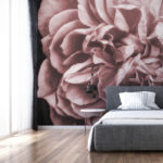 Blush Rose wall mural