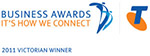 Telstra Award winner logo