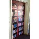 Door wrap book case image