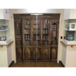 Door wrap bookcase image