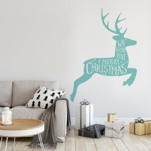 Reindeer wall sticker