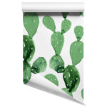 Cactus removable wallpaper design 3