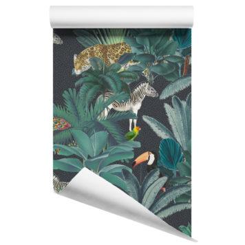 Jungle wallpaper - Royal