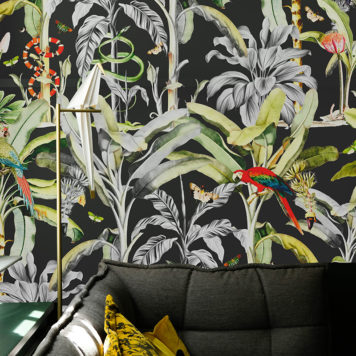 Luxe Jungle removable wallpaper