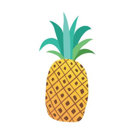 pineapples-yellow