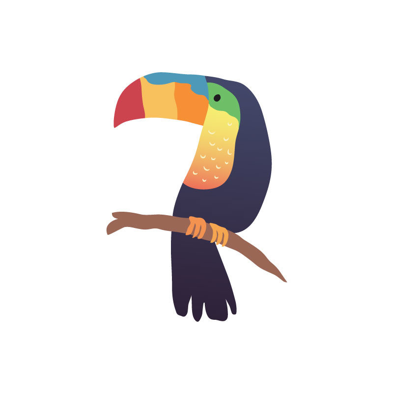 Tropical Icons Toucans