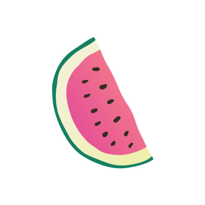 Tropical Icons watermelon slices