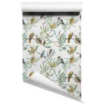 Banksia and Kookaburras wallpaper roll