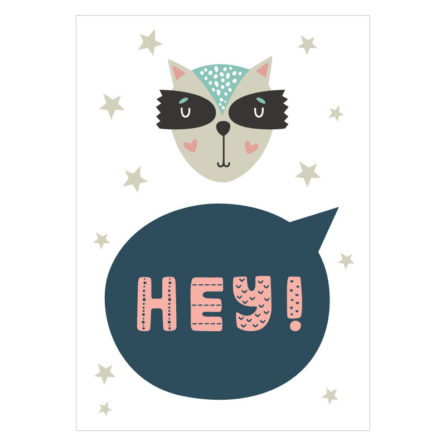 Hey-poster