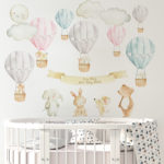 Hot Air Balloons and Animals