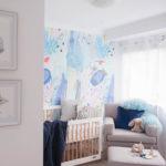 Soft Interiors Nursery wallpaper