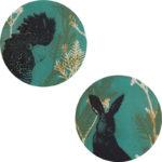 Trudy-Rice-Green-Cheeky-Cockatoo-and-Rabbit-2x-60cm