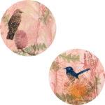 Trudy-Rice-Pink-Baby-Wattlebird-and-Wren-2x-60cm