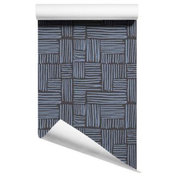 weave wallpaper on roll
