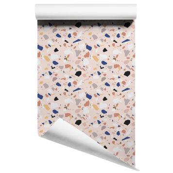 Terrazzo removable wallpaper