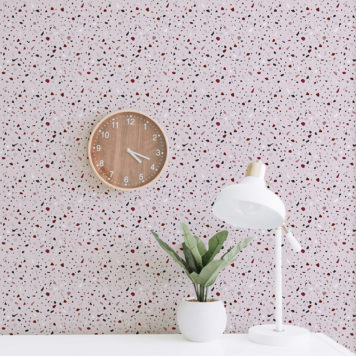 Terrazzo removable wallpaper