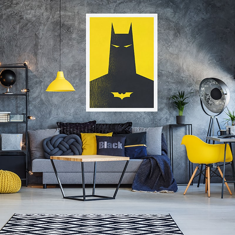 Superhero Poster Wall Decal