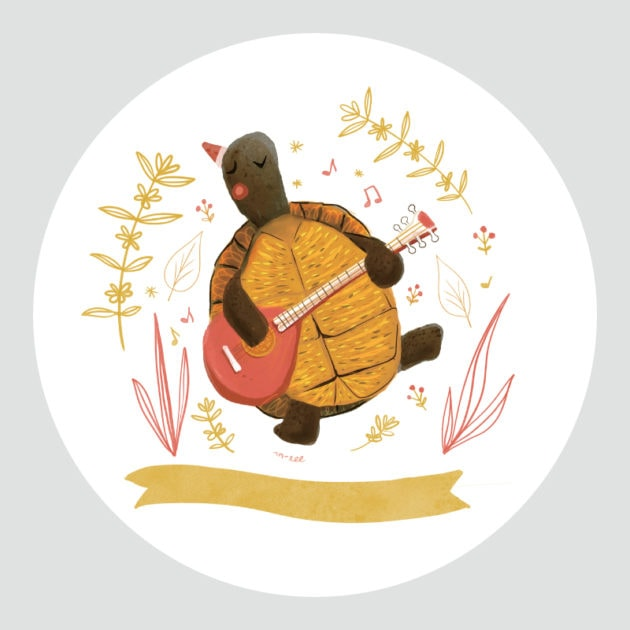 KK_Christmas-Critters-Turtle-with-guitar